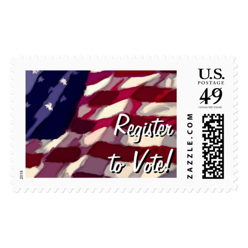 Register to Vote Postage
