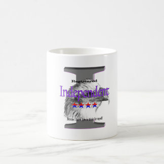 Registerd Independent Coffee Mug