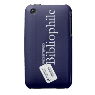 Registered Bibliophile iPhone 3 Cover