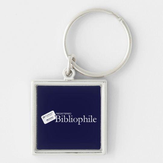 Registered Bibliophile Keychain