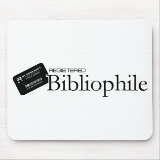 Registered Bibliophile Mouse Pad