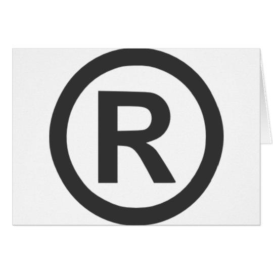 Registered Card