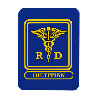 Registered Dietitian Rectangular Photo Magnet