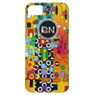 Registered Nurse Artsy Abstract Gifts iPhone SE/5/5s Case