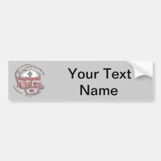 Registered Nurse Axiom Bumper Sticker