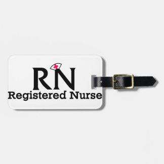 Registered Nurse Bag Tag