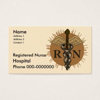 Registered Nurse Business Card