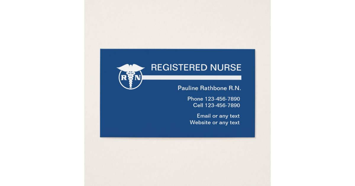 Home Healthcare Business Cards & Templates | Zazzle