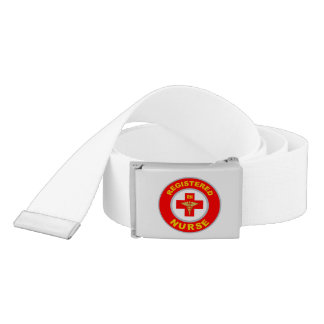 REGISTERED NURSE CANVAS BELTS