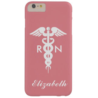 Registered Nurse Barely There iPhone 6 Plus Case