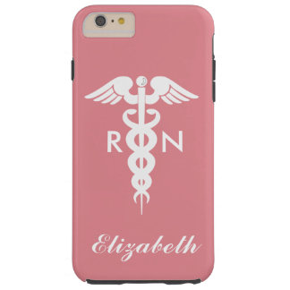 Registered Nurse Tough iPhone 6 Plus Case