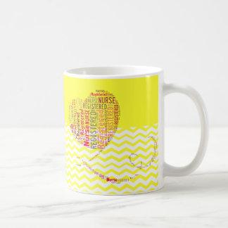 Registered Nurse Chevron Design Coffee Mugs