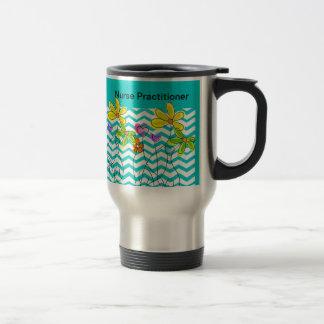 Registered Nurse Chevron Design Travel Mug