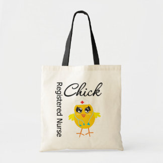 Registered Nurse Chick v1 Canvas Bags