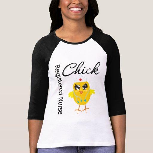 Registered Nurse Chick v1 Shirt