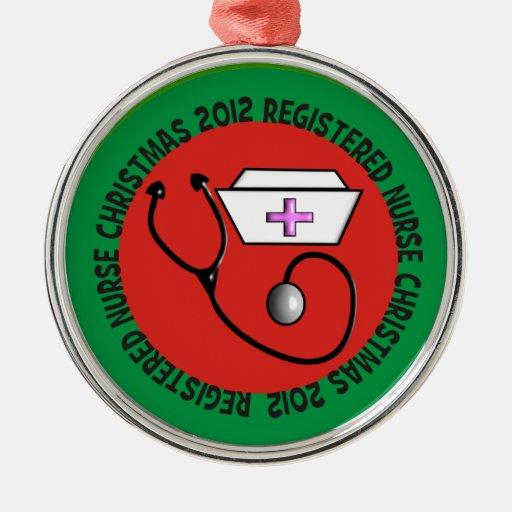 Registered Nurse Christmas Ornament 2012