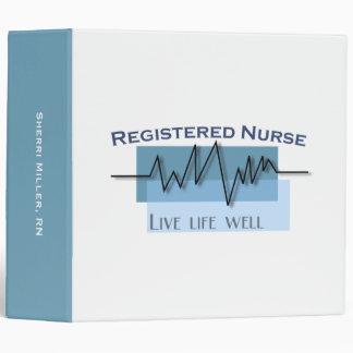 Registered Nurse Custom Professional Binder