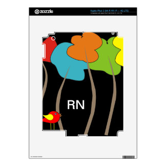 Registered Nurse Electronic Cases iPad 3 Decals