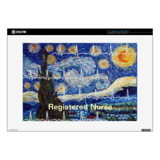 "Registered Nurse Electronics Cases Decal For 15"" Laptop"