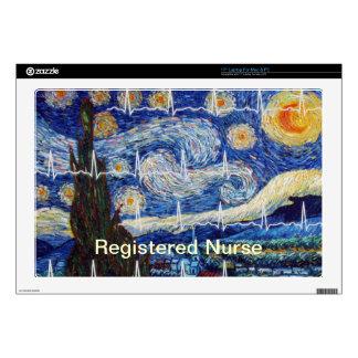 Registered Nurse Electronics Cases Skins For Laptops