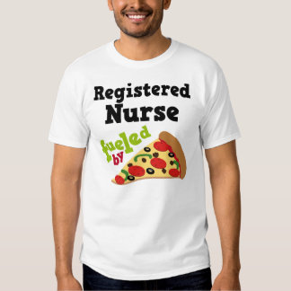 Registered Nurse (Funny) Pizza T Shirt