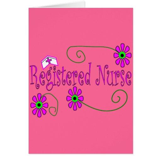 Registered Nurse gifts-- Card