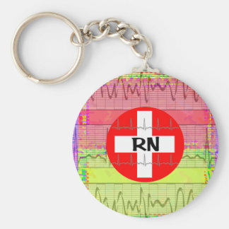Registered Nurse Gifts Keychain
