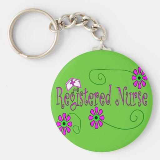Registered Nurse gifts-- Keychains