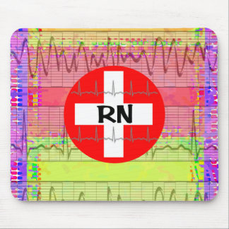 Registered Nurse Gifts Mouse Pad