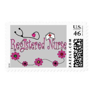 Registered Nurse Gifts Postage Stamp