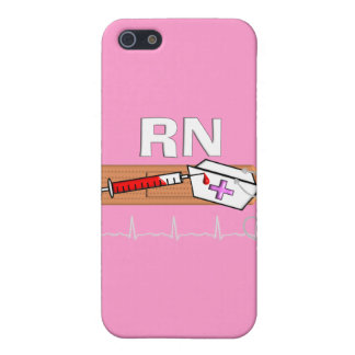 "Registered Nurse Gifts ""RN"" Cover For iPhone SE/5/5s"