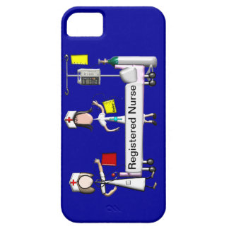 Registered Nurse Hospital Art iPhone 5 Case