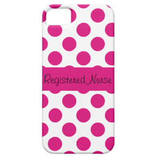 Registered Nurse iPhone 5 Barely There Case