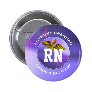 Registered Nurse | Labor & Delivery Custom Buttons