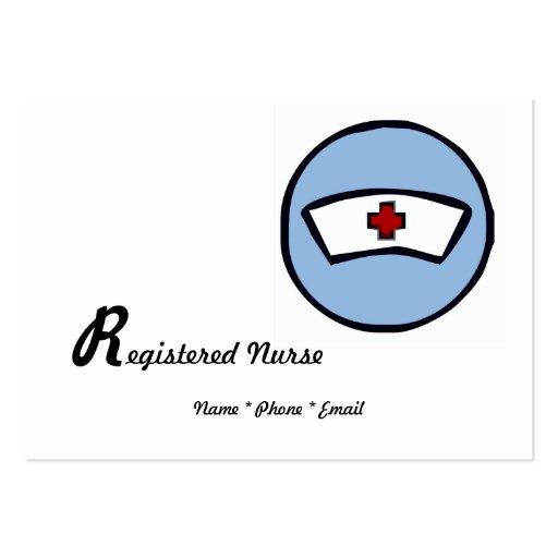 Registered Nurse Large Business Card