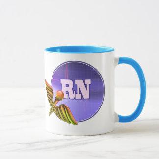 Registered Nurse Medical Caduceus Gift Mugs