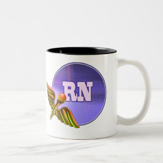 Registered Nurse Medical Caduceus Gift Mugs