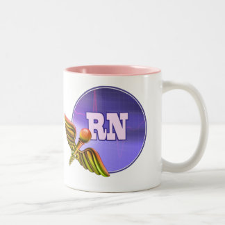 Registered Nurse. Medical Caduceus Gift Mugs