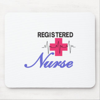 Registered Nurse Mouse Pad