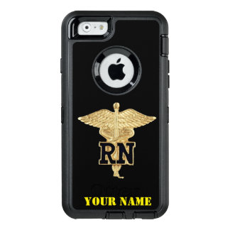 REGISTERED NURSE OtterBox DEFENDER iPhone CASE