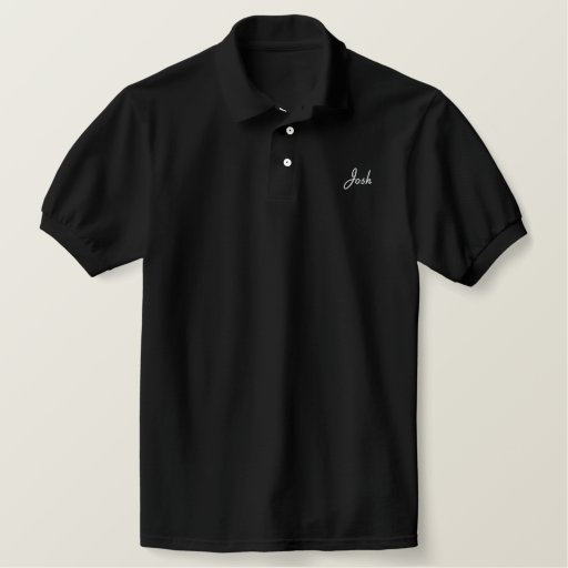 Registered Nurse-Personalize Name Embroidered Polo Shirt