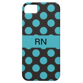 Registered Nurse Polka Dot iPhone 5 Case