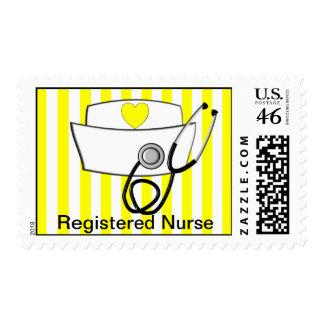 Registered Nurse Postage Stamps