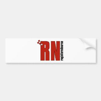 Registered Nurse RN Bumper Sticker