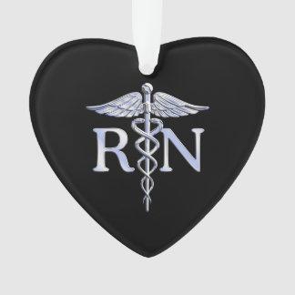 Registered Nurse RN Caduceus Snakes