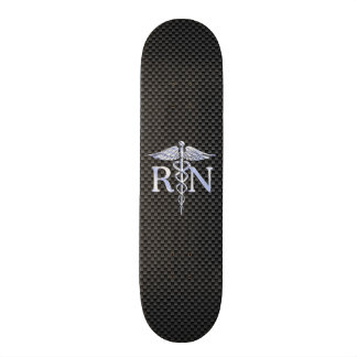 Registered Nurse RN Caduceus Snakes Skate Decks