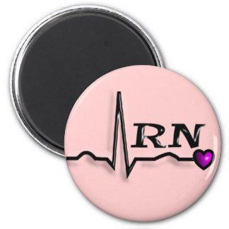 """Registered Nurse """"RN"""" Gifts QRS Design Magnets"""