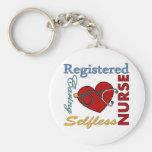 Registered Nurse - RN Keychain