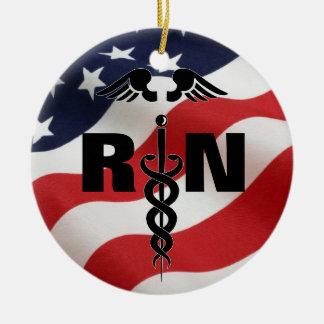 Registered Nurse RN Medical Ornament