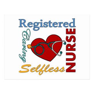 Registered Nurse - RN Postcard
